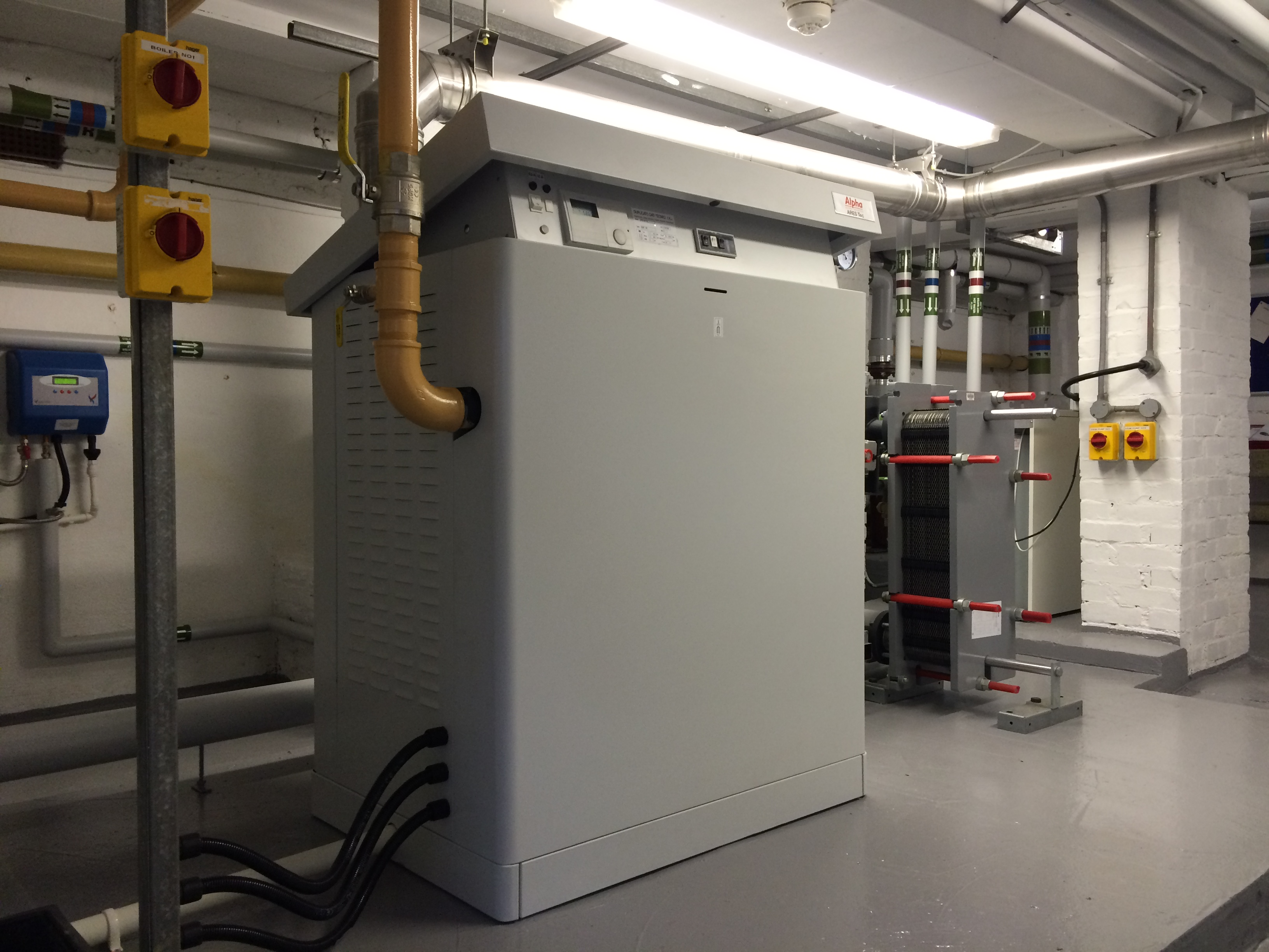 What better replacement for a heating system than the ARES Tec system?