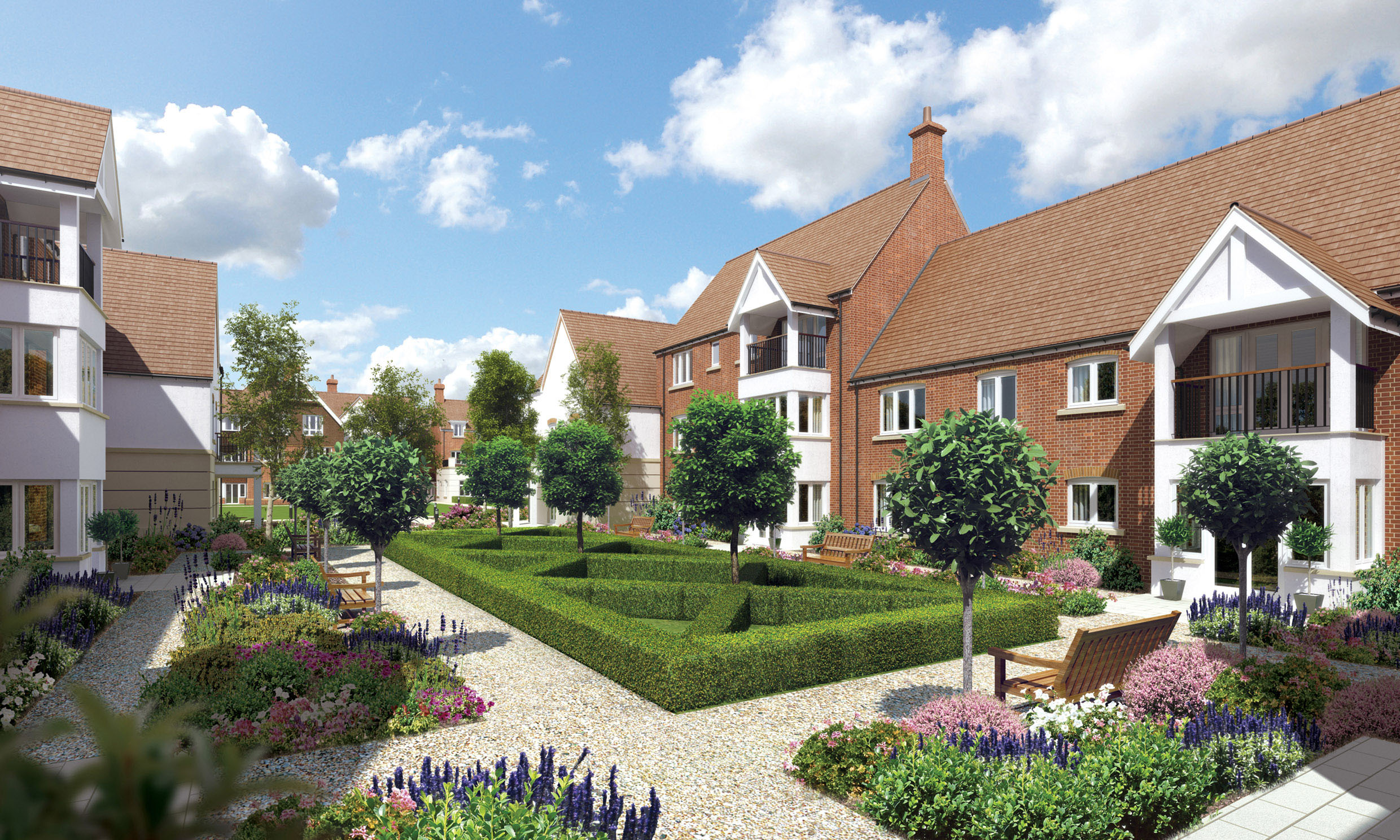 ALPHA PROVIDES HEATING TO LUXURY RETIREMENT VILLAGE NEAR DERBY