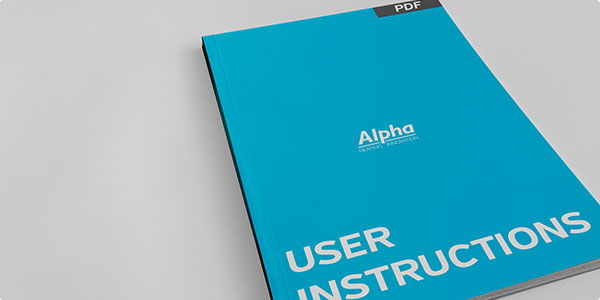 PDF USER MANUALS AND BROCHURES